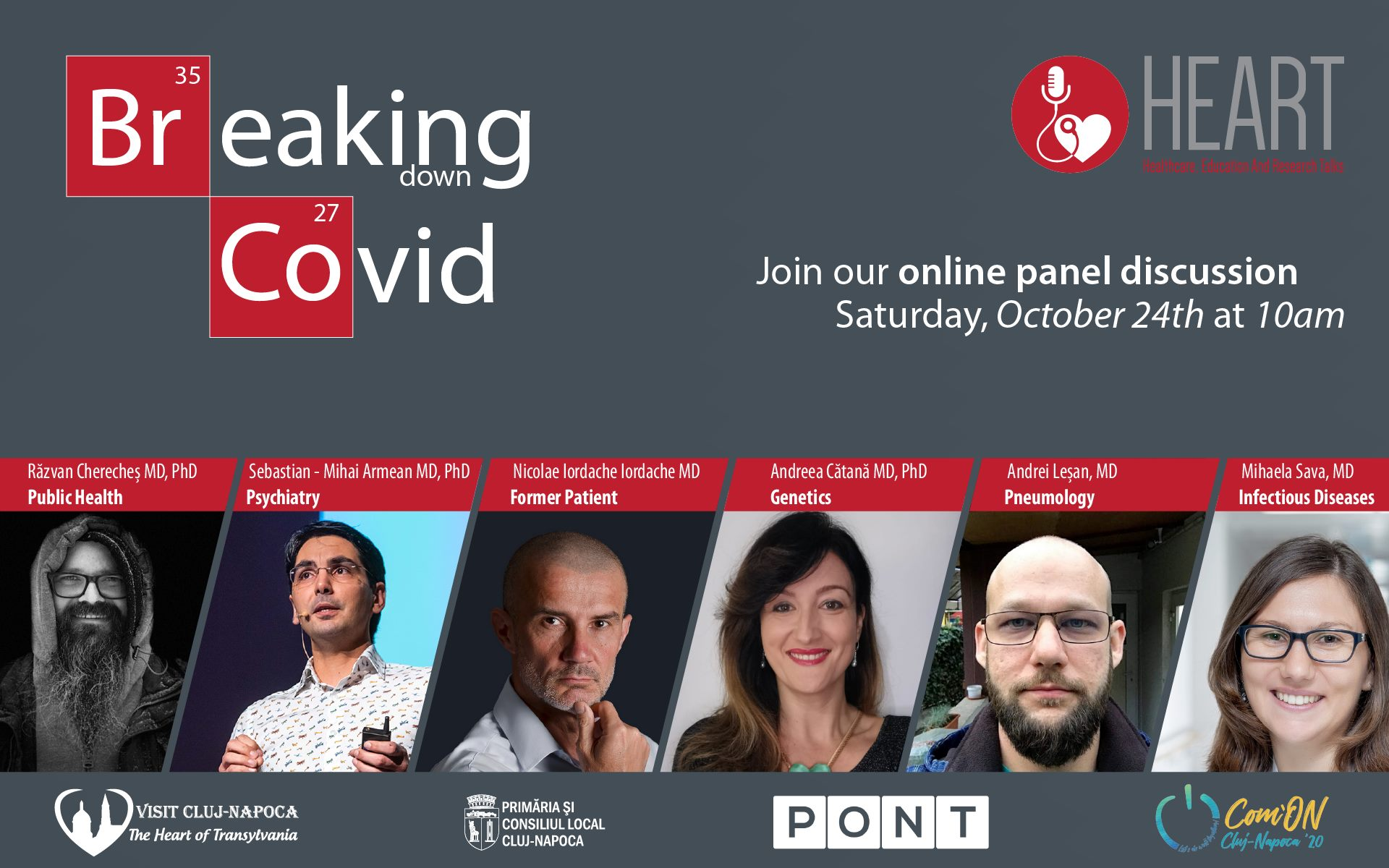 Breaking (down) Covid - Panel discussion