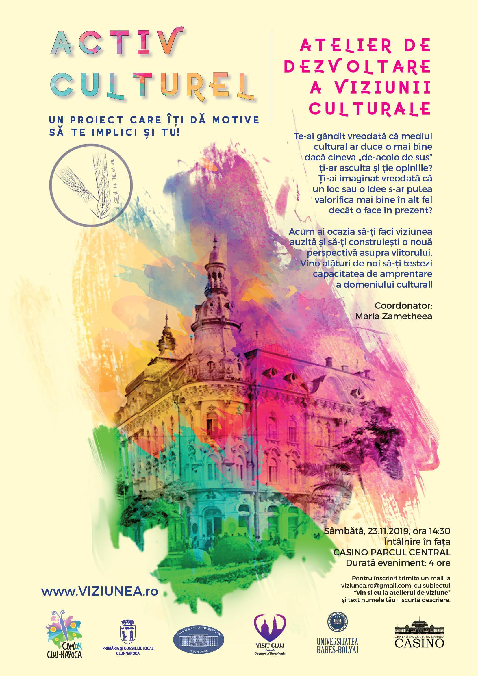 Atelier de dezvoltare a Viziunii Culturale