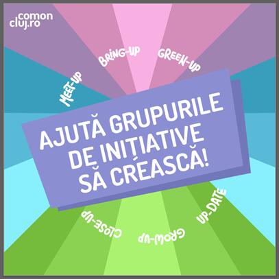 APEL pentru crearea Grupului de Facilitatori în cadrul Com'On Cluj-Napoca '19
